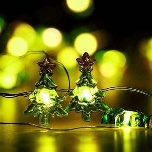 Cute, Christmas, String, Lights, Battery, Operated, Christmas, Tree, Lights, 10ft, 30, Led, For, Garden, Lawn