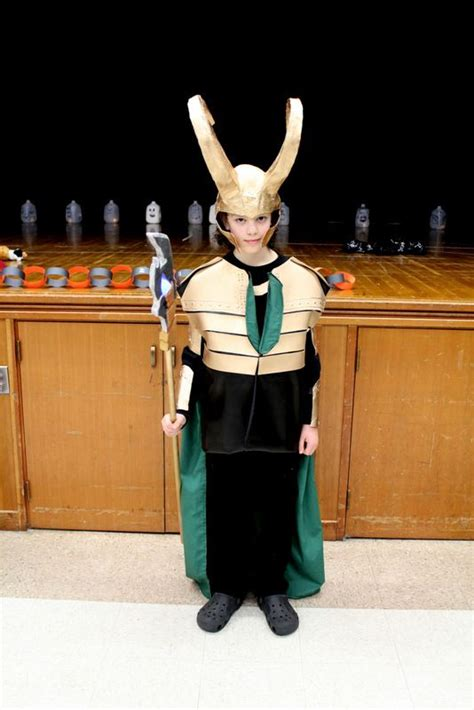 Diy Loki Costume Halloweenies Pinterest Loki Costume