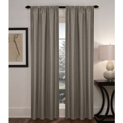 bed bath and beyond blackout drapes buy sebastian 108 inch rod pocket insulated total blackout