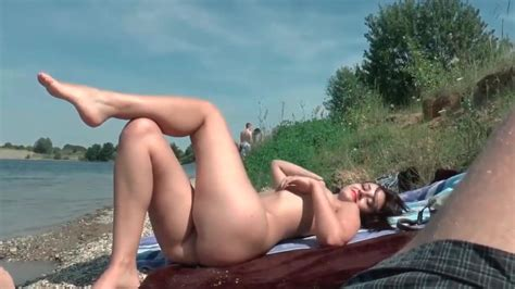Amazing Amateur Babe Has Hot Sex By The River Free Porn Cc