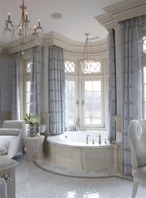 gorgeous details in this master bathroom elegant master