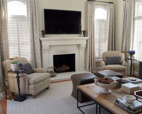 curtain ideas for living room 2 windows fireplace between two windows home decor living room