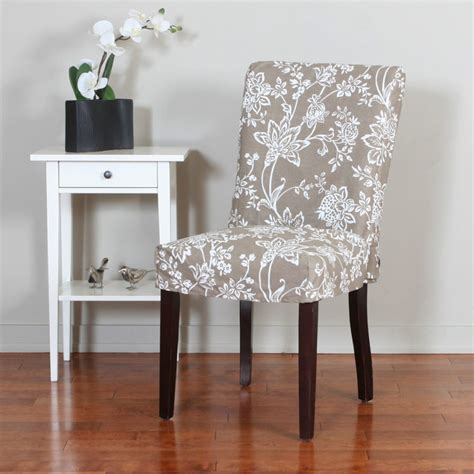covered dining room chairs furniture slip covered dining