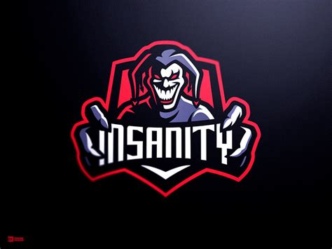 team insanity esports logo  derrick stratton  dribbble