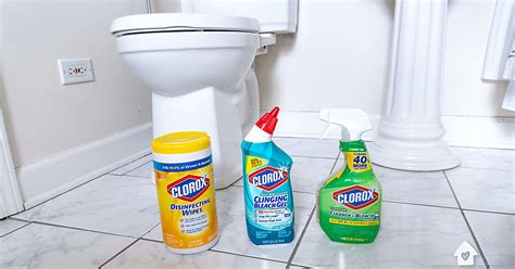deep clean  bathroom    simple hacks