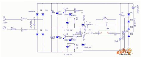 Need Based Electronic Ballest Circuit Diagram
