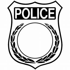 badge template clipart best With police patch design template