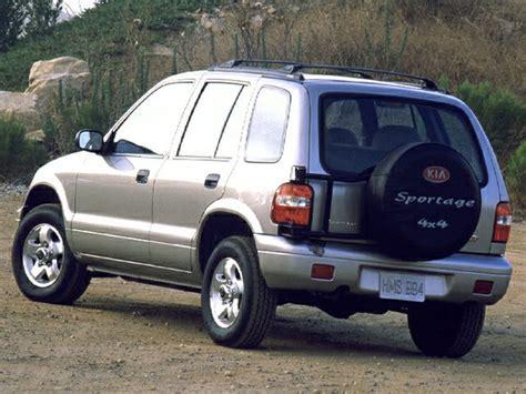 2001 Kia Sportage Mpg by 2000 Kia Sportage Base 4dr 4x4 Information