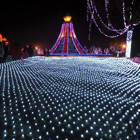 mesh christmas lights outdoor aliexpress buy 2m x 2m 144 led lights festival net mesh string 110v 220v