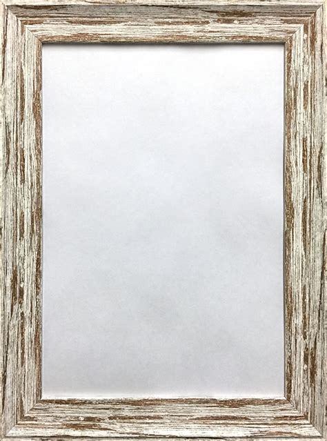shabby chic picture frames uk poster frame distressed wood effect shabby chic vintage style picture frames new ebay