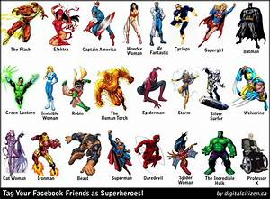 SUPERHEROS--Friends + Foes