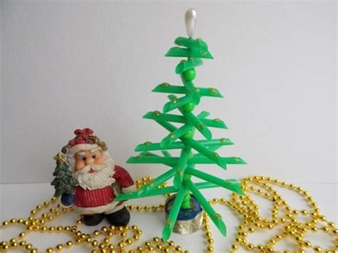 mini weihnachtsbaum basteln 43 ideen f 252 r basteln mit strohhalmen zu weihnachten