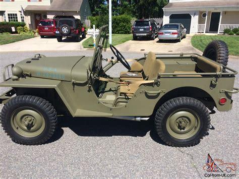 Willys Ma Ww2 Prototype Military Jeep Ma Ww2 Prototype