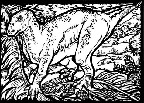 Exciting Dinosaur Colouring Pages