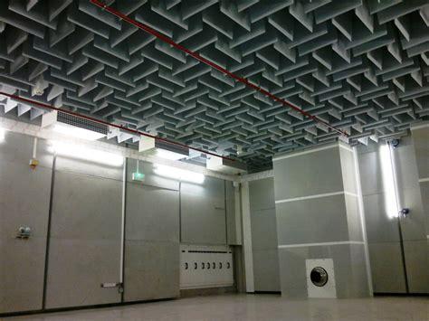 insonorisation chambre chambre anéchoïque et chambre sourde spectra
