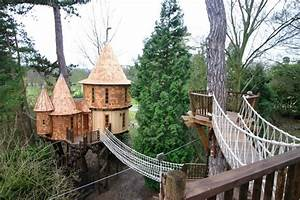 This Family Lives In A Tree House That Looks Like A Castle