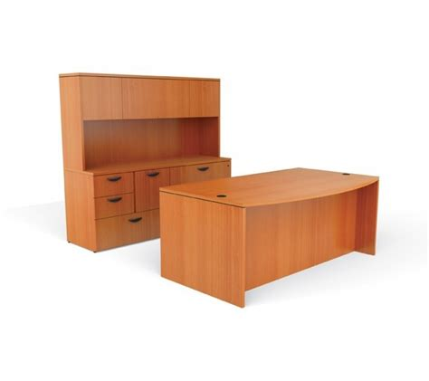 Furniture Desk And Hutch by Office Furniture Desk Set With Credenza And Hutch