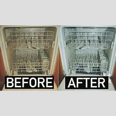 How To Clean Your Dishwasher With Baking Soda + Vinegar
