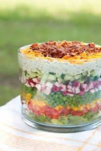Seven 7 Layer Salad Recipe