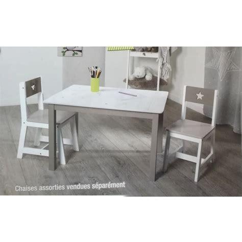 chaise pour table en bois chaise taupe pour enfant en bois les douces nuits de maé