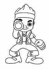 Coloring Spyglass Jake Pages Telescope Pirate Colouring Clipart Template Clip Neverland Pirates Library sketch template