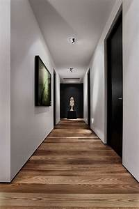 Parquet Stratifié Noir : les 25 meilleures id es de la cat gorie couloir blanc sur ~ Edinachiropracticcenter.com Idées de Décoration