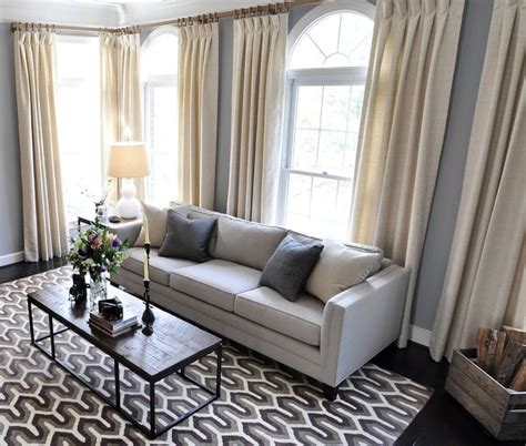 Houzz Living Room Curtains by Arlington Living Room Drapes Transitional Living Room