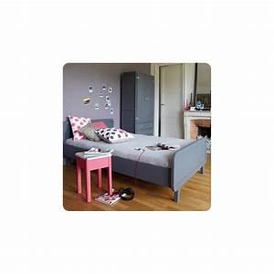 Lit Rond But : lit rond 120x200 cm gris fonc laurette design enfant ~ Teatrodelosmanantiales.com Idées de Décoration