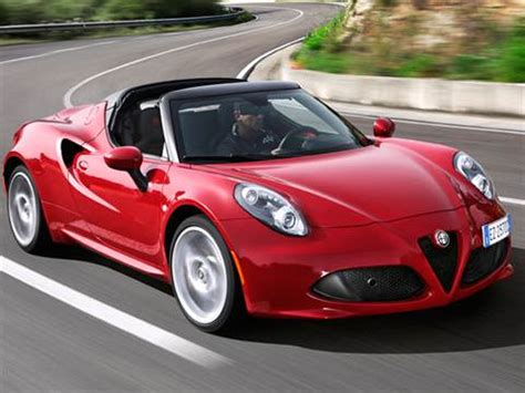 2015 Alfa Romeo 4c Spider  Pricing, Ratings & Reviews