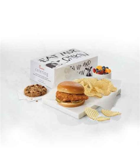 chick fil  boxed lunch  perfect   work