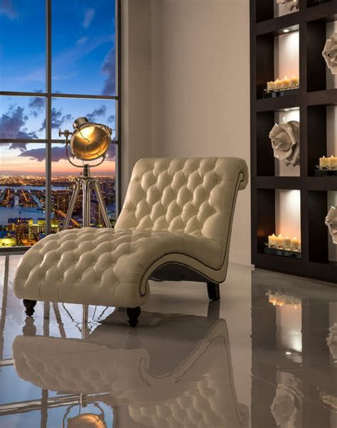 oliver chaise eclectic living room miami by el