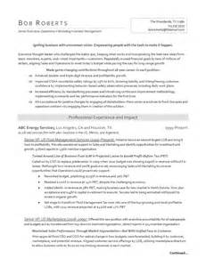 free sle resume for and gas industry resumes for and gas industry executives movin on up resumes