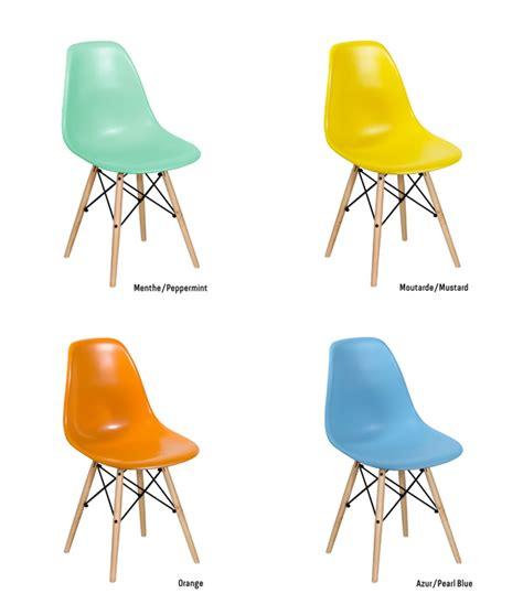 chaise dsw pas cher les nouvelles couleurs de la chaise dsw chez meubles et