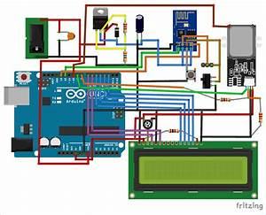 Iot Based Online Biometric Attendance System Project Using