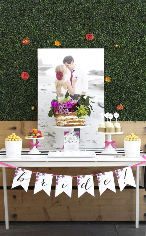 Bridal Shower Ideas - garden bridal shower kristi murphy diy ideas
