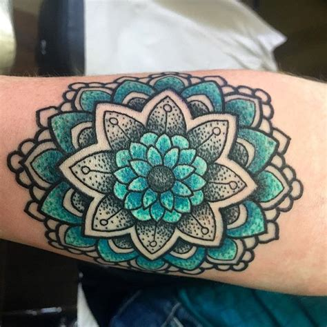 colour mandala tattoo google search tattoo ideas