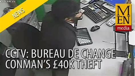 catch me if you can conman who stole 163 40 000 from asda bureau de change acted alone say
