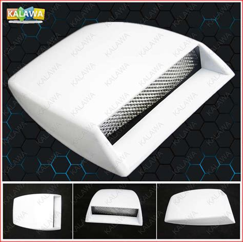 Abs Type R Vent Net Car Air Flow Hood Modified Stick