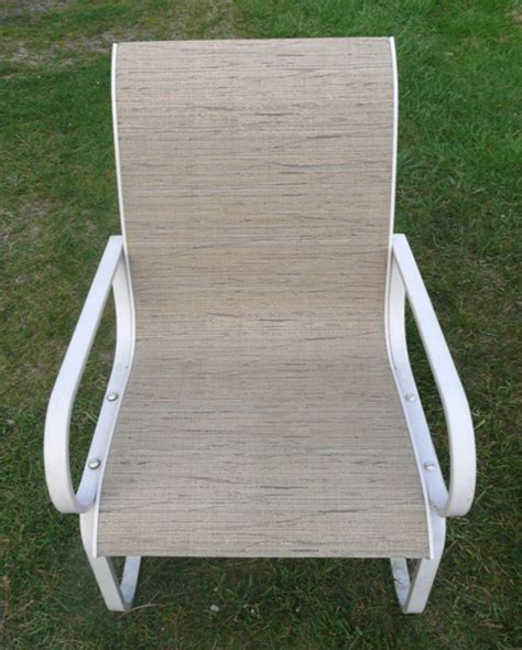 replace patio sling chair fabric patio sling fabric replacement fl 040 hoffman leisuretex