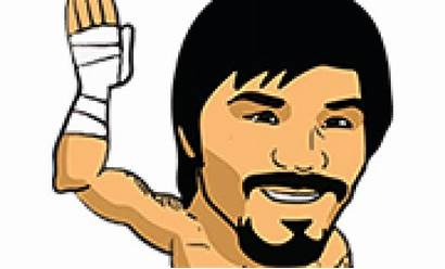 Manny Pacquiao Stickers Line