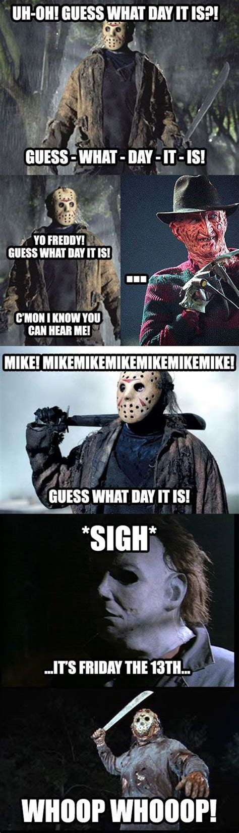 The Movie Friday Memes - best 25 friday the 13th ideas on pinterest jason voorhees jason voorhees film and halloween