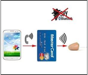 spy bluetooth earpiece gsm card hidden wireless invisible