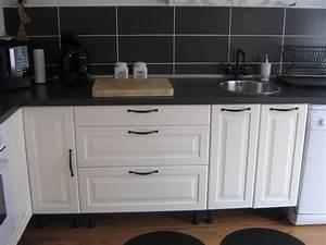 Cuisine Blanc Et Noir : ma cuisine photo 4 8 cuisine blanche et chocolat ~ Voncanada.com Idées de Décoration