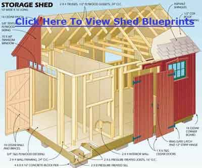 free 10x12 storage shed plans shed blueprints 10x12
