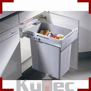 Mülleimer Küche Einbau : einbau abfallsammler 40 l vollauszug 40 cm schrank m lleimer hailo k che front ebay ~ Markanthonyermac.com Haus und Dekorationen