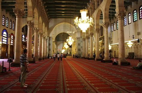 umayyad mosque mosque  damascus thousand wonders