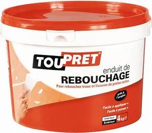 Pâte à Bois De Rebouchage : enduit de rebouchage en p te aspect blanc 4 kg brico d p t ~ Dailycaller-alerts.com Idées de Décoration