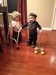 elderly couple halloween costume