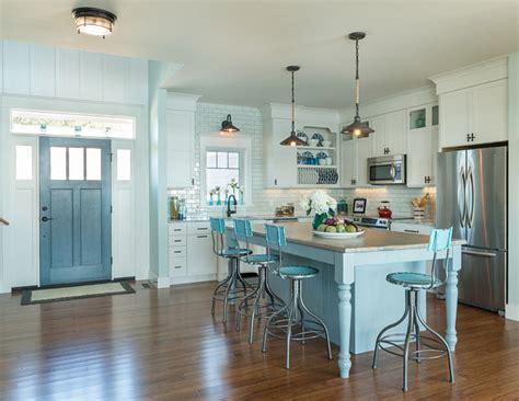 cottage kitchen island 28 images 28 coastal kitchen with blue gray robins egg blue