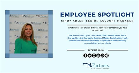 employee spotlight template employee spotlight meet adler senior account manager